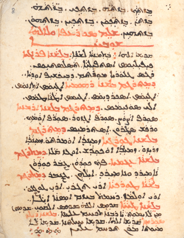 CCM 10 = Mardin 81, f. 8r