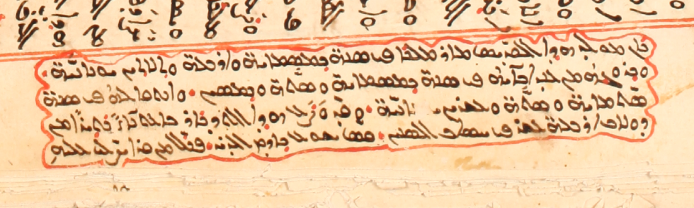 Scribal note on Mar Malkē. SMMJ 199A, f. 349v.