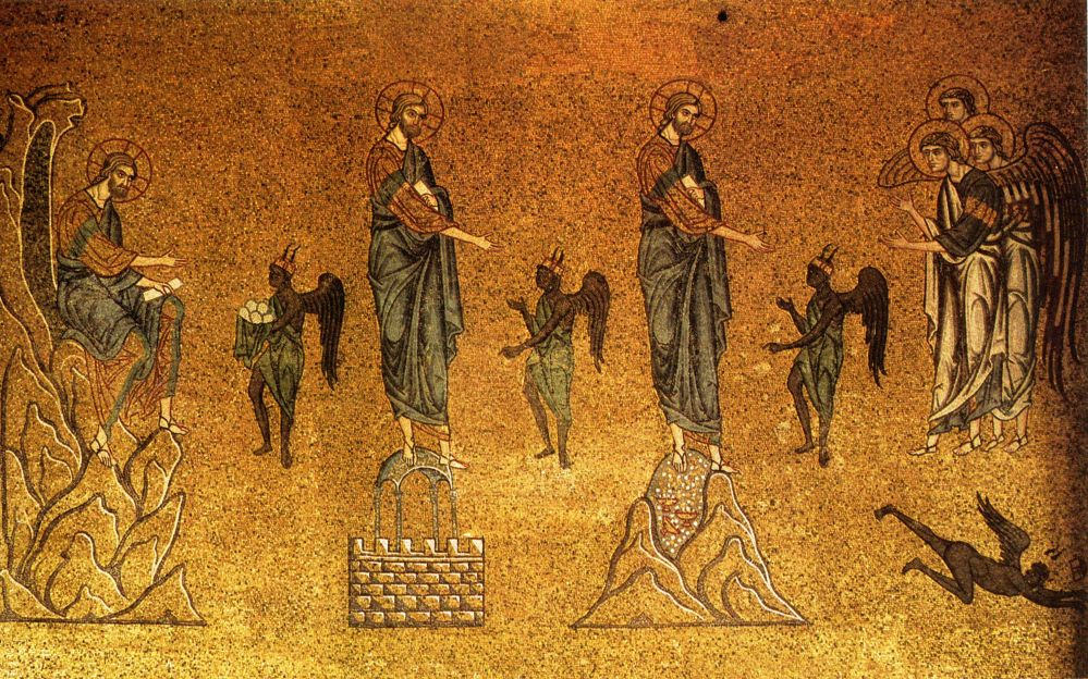 12th-cent. mosaic in Basilica di San Marco, Venice. Source.